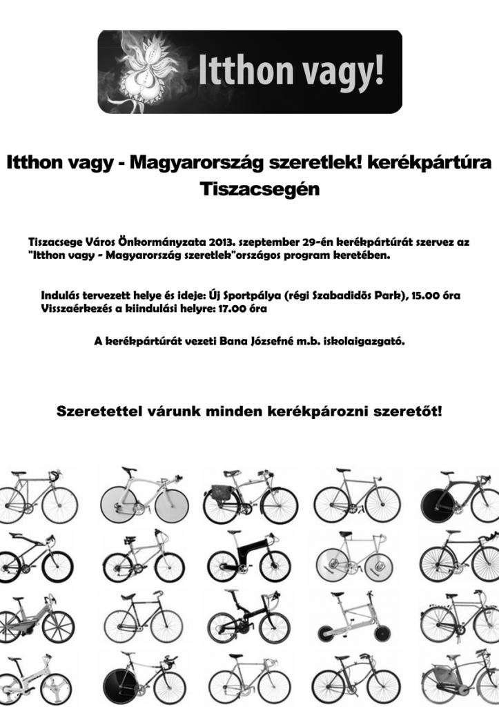 Magyarország szeretlek kerékpártúra