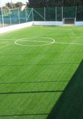 Tiszacsegei műfüves labdarúgó pálya megvalósítása