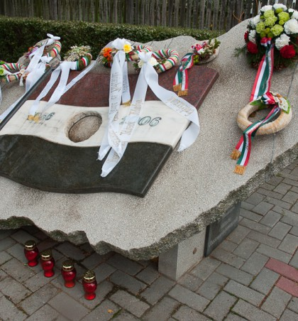 Október 23-ai megemlékezés és koszorúzás