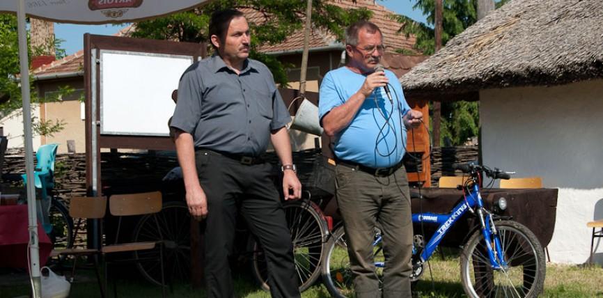 Testvérvárosi találkozó: Tiszacsege – Szalárd 2012.