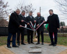 Alapkőletétel – Fekete István Általános Iskola infrastrukturális fejlesztés
