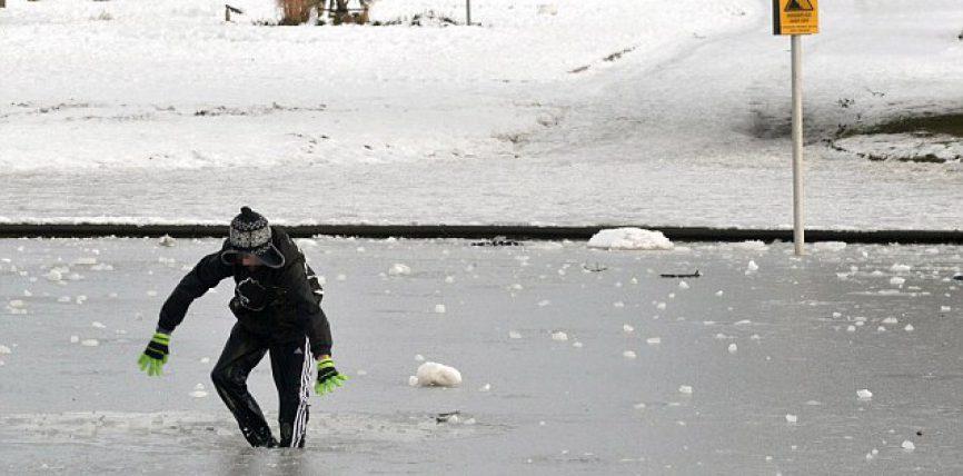 A jégen tartózkodás szabályai – Vizirendészet felhívása