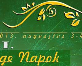 XXI. Csege Napok 2013.