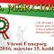 Március 15-ei ünnepélyes megemlékezés