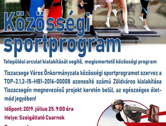 Közösségi sportprogram