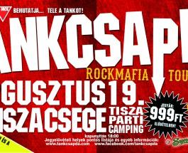 Tankcsapda koncert Tiszacsegén