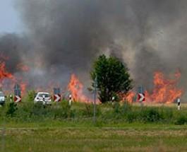 Felhívás az aratással kapcsolatos tüzek megelőzése érdekében