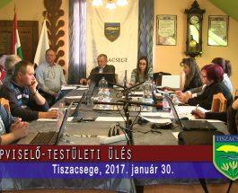 Képviselő-testületi ülés 2017. január 30.
