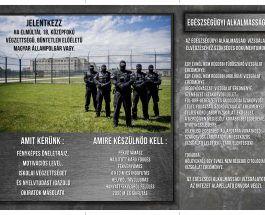 Állásajánlat – Várunk a Büntetés-végrehajtás csapatába