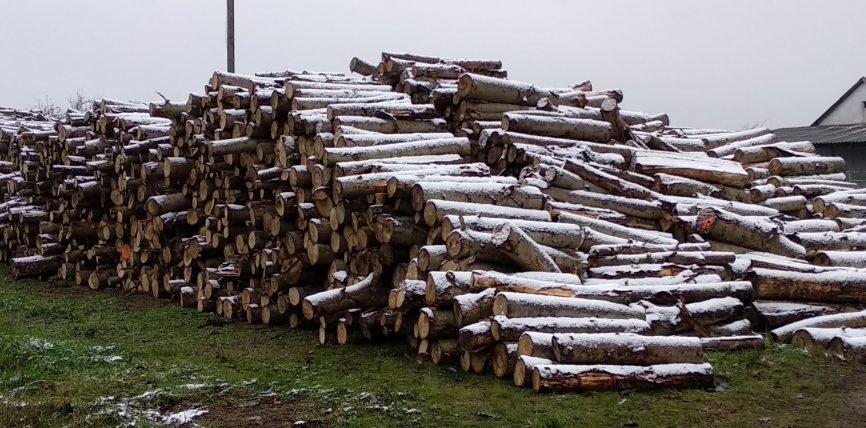 A szociális tűzifa kiosztása a mai napon (2020. december 8.) szünetel