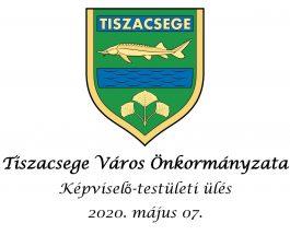Képviselő-testületi ülés – 2020. május 07.