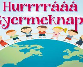 Gyermeknapi rendezvény a Tüzelős-ól udvarán
