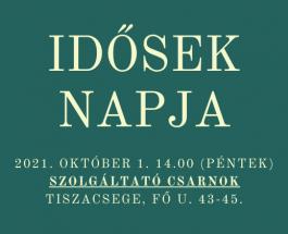 Idősek Napja – 2021. október 1.