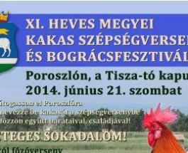 XI. Heves Megyei Kakas Szépségverseny és Bográcsfesztivál